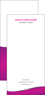 personnaliser maquette flyers violet fond violet colore MLGI58679