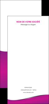 personnaliser maquette flyers violet fond violet colore MLIG58679