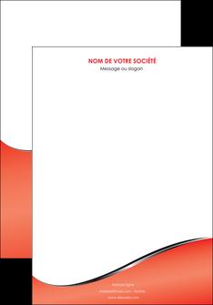 personnaliser maquette affiche rouge rouille colore MLGI58695