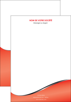 personnaliser maquette affiche rouge rouille colore MLIG58695