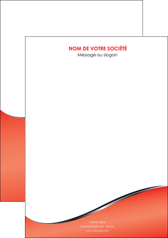 faire affiche rouge rouille colore MIF58697