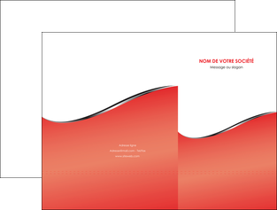 modele en ligne pochette a rabat rouge rouille colore MLIG58703