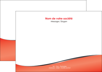 modele flyers rouge rouille colore MIF58713