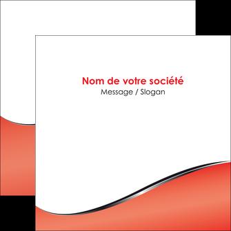 imprimer flyers rouge rouille colore MLIG58721