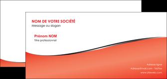 faire modele a imprimer carte de correspondance rouge rouille colore MLGI58727