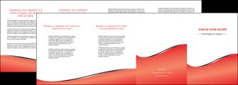 creation graphique en ligne depliant 4 volets  8 pages  rouge rouille colore MLIG58733