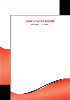 maquette en ligne a personnaliser flyers rouge rouille colore MLIG58735