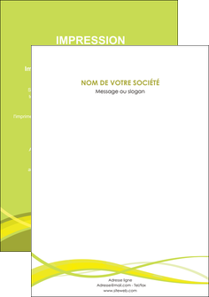 personnaliser modele de affiche espaces verts vert vert pastel fond vert MIF58747