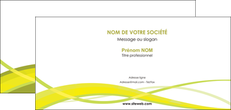 personnaliser maquette carte de correspondance espaces verts vert vert pastel fond vert MIF58751