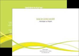faire modele a imprimer flyers espaces verts vert vert pastel fond vert MIF58755