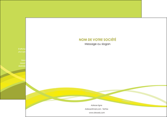 maquette en ligne a personnaliser affiche espaces verts vert vert pastel fond vert MLGI58765