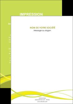 personnaliser modele de affiche espaces verts vert vert pastel fond vert MIF58781