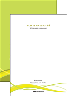 faire modele a imprimer flyers espaces verts vert vert pastel fond vert MIF58787