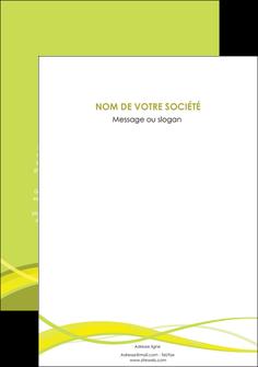 maquette en ligne a personnaliser flyers espaces verts vert vert pastel fond vert MIF58789