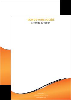 creer modele en ligne affiche orange gris courbes MLIG58899