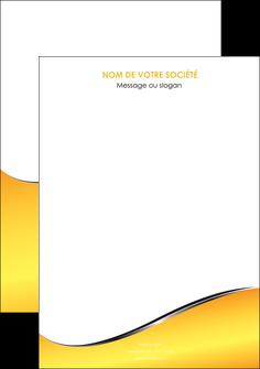 imprimer affiche jaune fond jaune colore MLGI58909