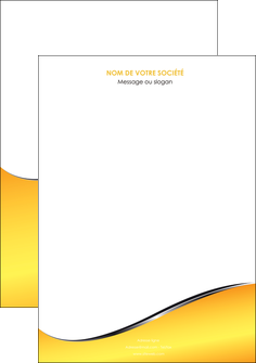 modele en ligne affiche jaune fond jaune colore MLGI58911