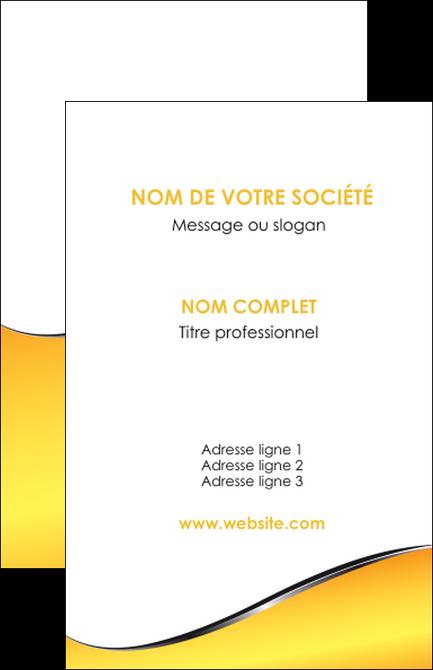 Faire Modele A Imprimer Carte De Visite Jaune Fond Colore MLGI58917