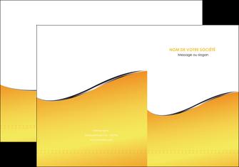 exemple pochette a rabat jaune fond jaune colore MLGI58919