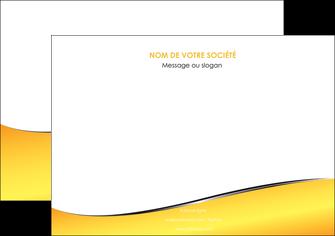 exemple affiche jaune fond jaune colore MLGI58927