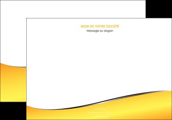 faire modele a imprimer affiche jaune fond jaune colore MLGI58929