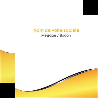 personnaliser modele de flyers jaune fond jaune colore MLGI58941