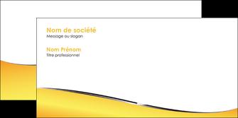 imprimer enveloppe jaune fond jaune colore MLIG58945
