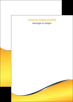 faire modele a imprimer affiche jaune fond jaune colore MLGI58951