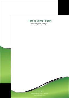 modele en ligne flyers vert fond vert colore MIF59241