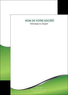 realiser flyers vert fond vert colore MLGI59243