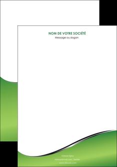 creer modele en ligne affiche vert fond vert colore MLGI59245