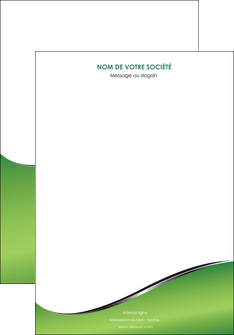 creer modele en ligne affiche vert fond vert colore MIF59245
