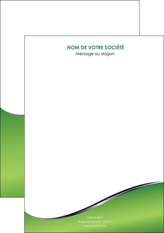 creation graphique en ligne affiche vert fond vert colore MIF59247