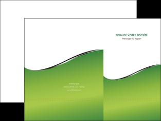 creer modele en ligne pochette a rabat vert fond vert colore MLGI59253