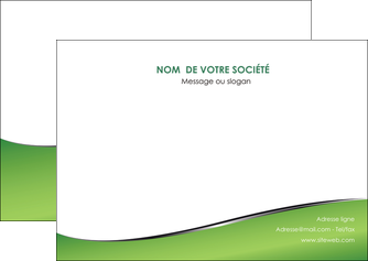 maquette en ligne a personnaliser flyers vert fond vert colore MIF59267