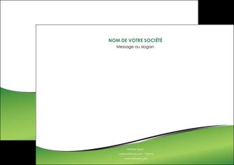 maquette en ligne a personnaliser flyers vert fond vert colore MIF59273
