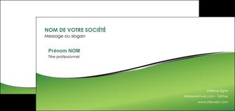 impression carte de correspondance vert fond vert colore MIF59277