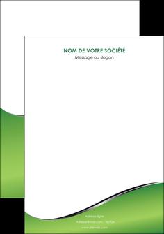 personnaliser maquette affiche vert fond vert colore MIF59281