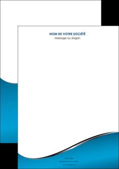 creation graphique en ligne affiche bleu bleu pastel fond bleu MIF59357