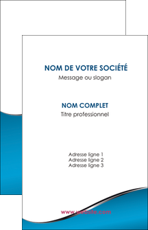 imprimerie carte de visite bleu bleu pastel fond bleu MLGI59363