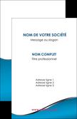 imprimerie carte de visite bleu bleu pastel fond bleu MLIP59363