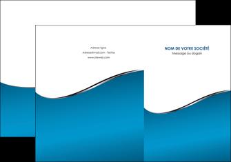 creer modele en ligne pochette a rabat bleu bleu pastel fond bleu MLIG59367