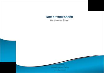 impression affiche bleu bleu pastel fond bleu MIF59373