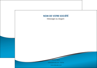 impression affiche bleu bleu pastel fond bleu MLIG59373