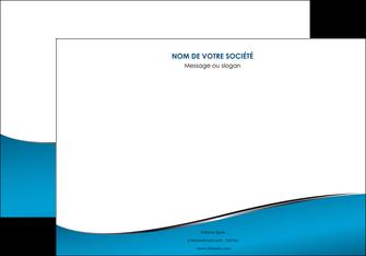 personnaliser modele de affiche bleu bleu pastel fond bleu MIF59375