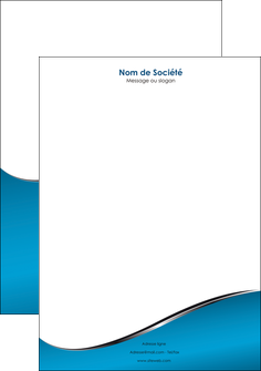 modele en ligne tete de lettre bleu bleu pastel fond bleu MLIG59385