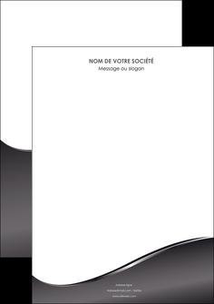 faire modele a imprimer affiche web design gris fond gris noir MLIG59409
