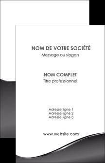 cree carte de visite web design gris fond gris noir MLIG59415