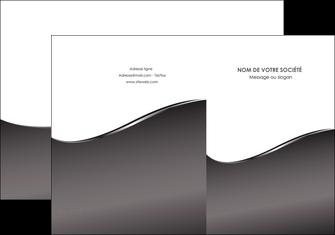 imprimerie pochette a rabat web design gris fond gris noir MIF59417