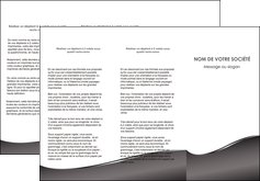 impression depliant 3 volets  6 pages  web design gris fond gris noir MIF59431